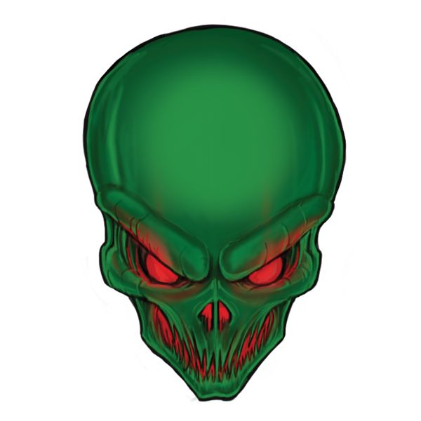 Alien head free artwork download. Claim it now! https://www.kodostudio.com/portfolio/alien-head-free-artwork/