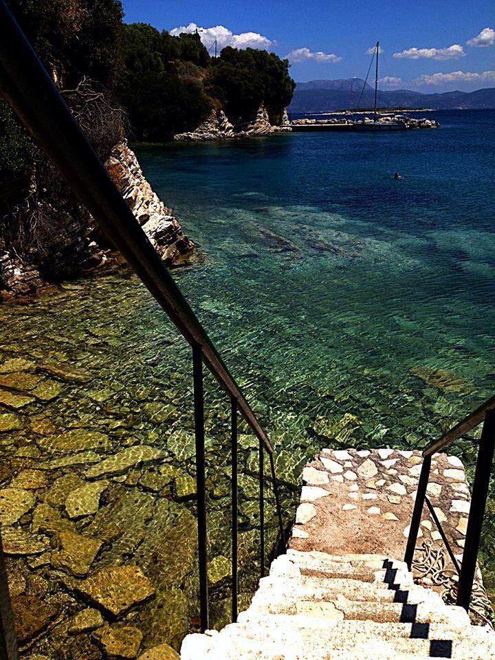 little island near Lefkada