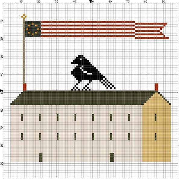 42 best corbeau images on pinterest cross stitch patterns counted notforgotten farm freebies fandeluxe Gallery