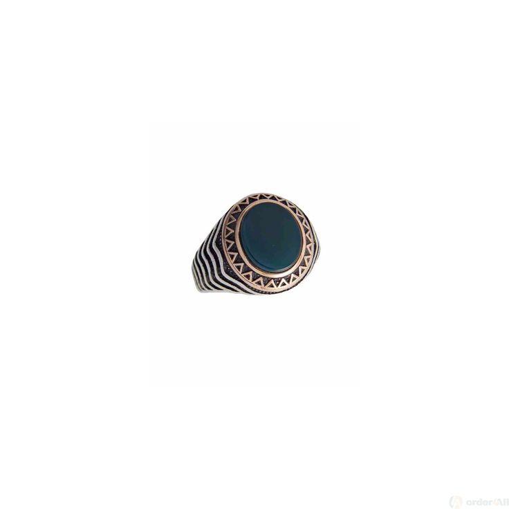Δαχτυλίδι Retro με πέτρες