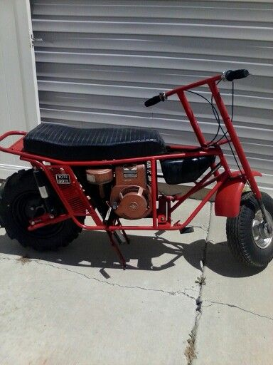 My Grandpas Tote Gote Atvs And Dirtbikes Pinterest