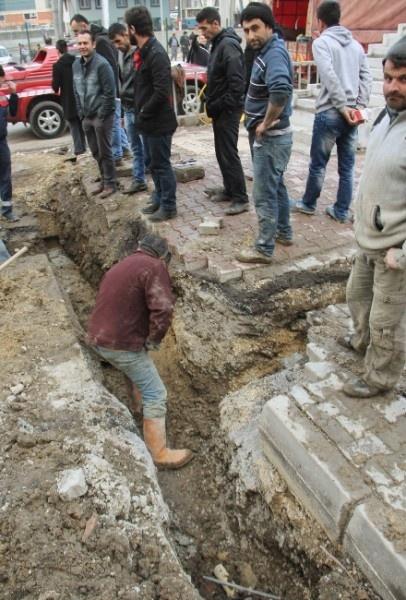 Karabük'te Doğalgaz Borusu Patladı