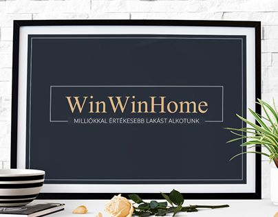 """Check out new work on my @Behance portfolio: """"WinWinHome homestaging company logo and branding"""" http://be.net/gallery/61043257/WinWinHome-homestaging-company-logo-and-branding"""