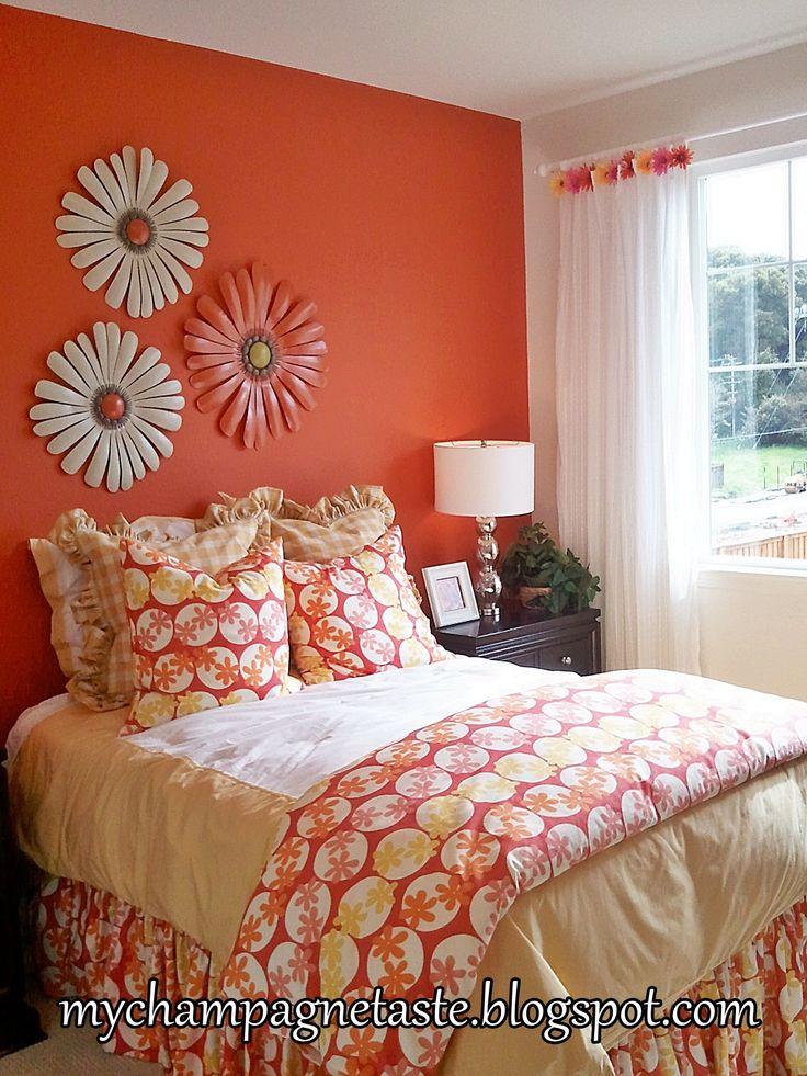 Best 25+ Orange bedroom walls ideas on Pinterest | Grey ...