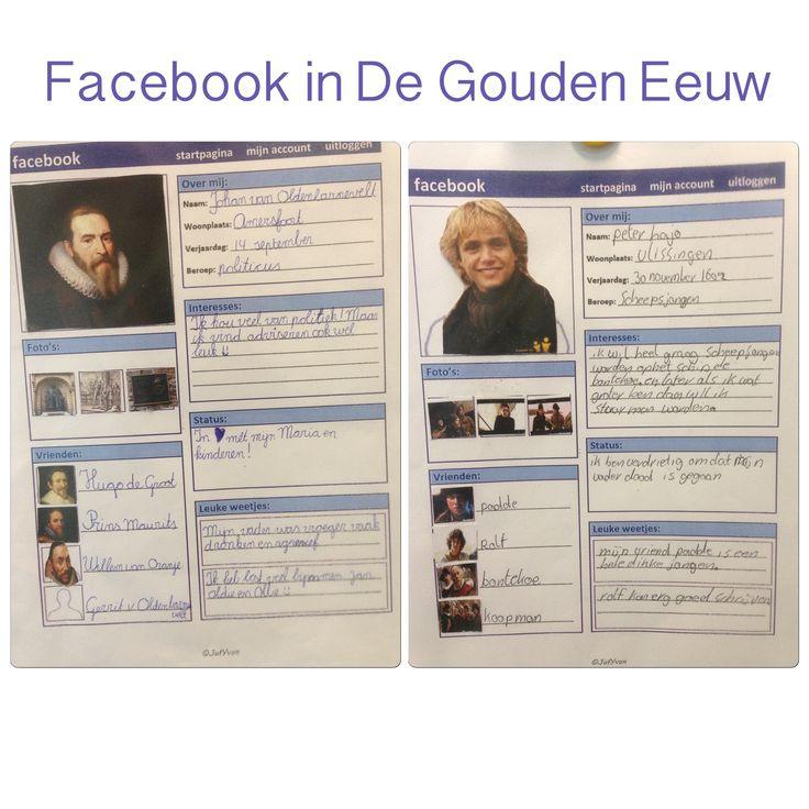 Facebook in de Gouden Eeuw 1