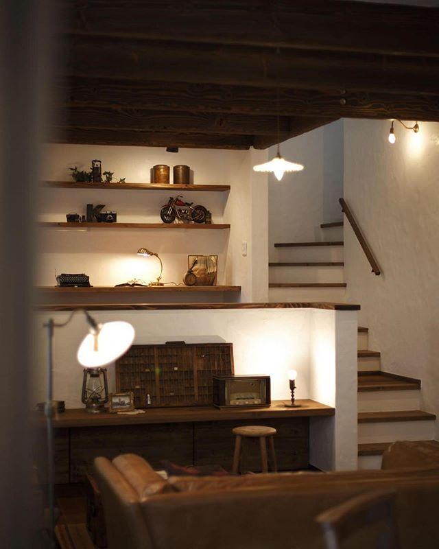 スキップフロアとリビング階段のいいとこ取り 空間を楽しむ設計にしま