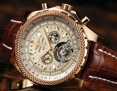 Breitling Bentley Tourbillion this watch is the coolest. Breitling... the smart man I know!