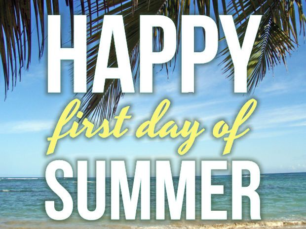 I want to wish everyone a great summer.Drive safely.