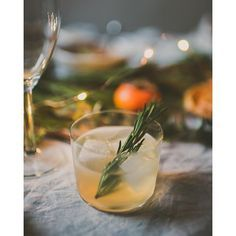 Asian Pear Shrub Prosecco And Gin Cocktail With Rosemary Simple Syrup via @feedfeed on https://thefeedfeed.com/thanksgiving-cocktails/bliu07/asian-pear-shrub-prosecco-and-gin-cocktail-with-rosemary-simple-syrup