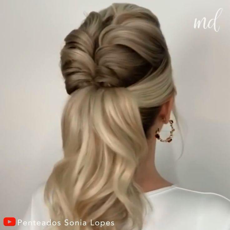 BRAIDED PONYTAIL#braided #ponytail