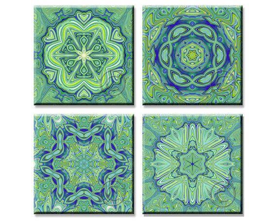 DIY Mandala Coasters, Printable Instant Download by StudioArt108, $4.73