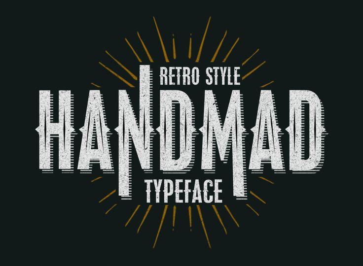 Handmad Font on Behance