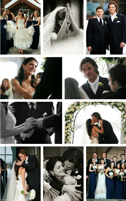 Jared and Genevieve Padalecki's wedding