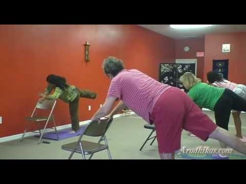 Part 3 of 5: Tuesday Chair Yoga @ Aradhikas.com