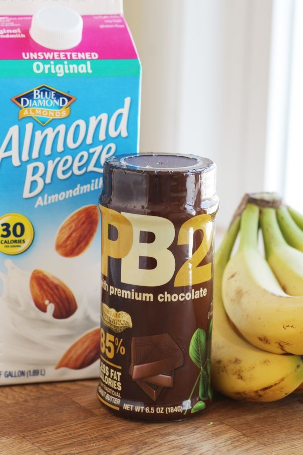 Chocolate PB2 Smoothie