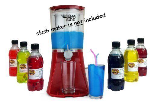 Slush Syrup: Multi-flavour pack (6x 330ml) for making Iced Slushies @ £19.95