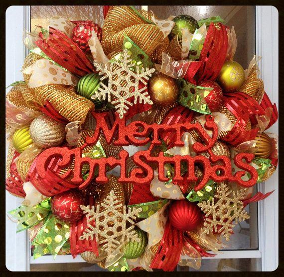 184 best Steph's Door Decor images on Pinterest | Christmas ...