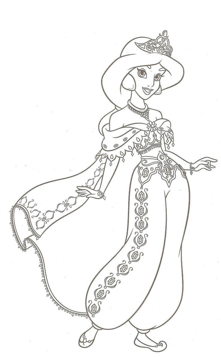 princesse disney colorier