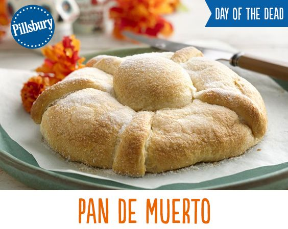 Celebrate the Day of the Dead with this delicious Pan de Muerto recipe!