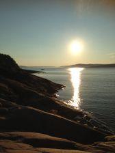 Sunset, Trysunda, Höga Kusten