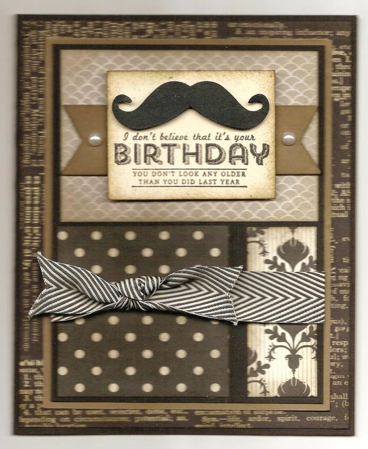 Chatterbox Creations Birthday Celebrations For An Old Boss Masculine Cards