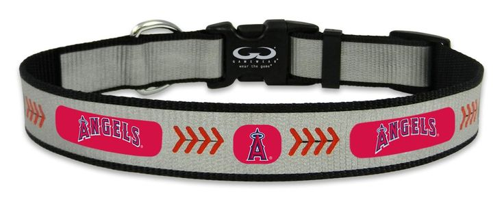 Los Angeles Angels Reflective Large Baseball Collar