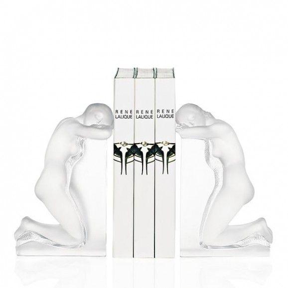 Lalique Reverie Bookends Set of 2