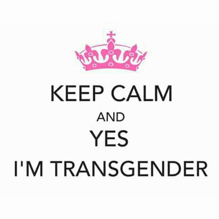#Transgender #LGBTQ #Trans #KeepCalm