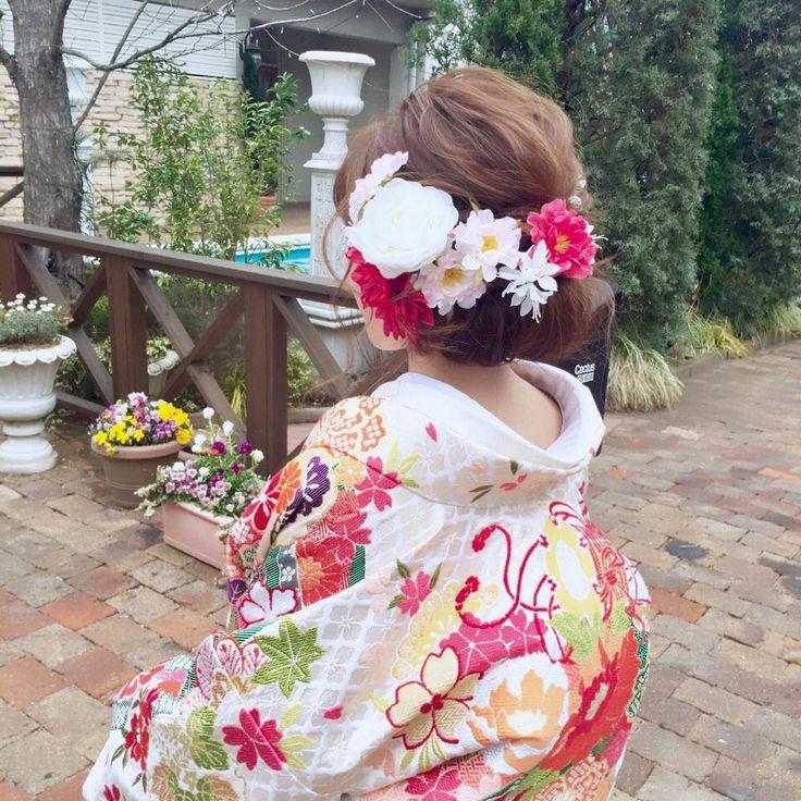 シニヨンアレンジの和装ブライダルヘアカタログ | marry[マリー]