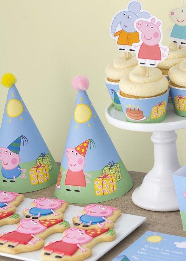 Peppa & George Pig Birthday Party via Kara's Party Ideas   KarasPartyIdeas.com #peppapigparty (13)