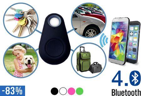 Bluetooth iTag alarm t.w.v. €39,95 nu voor slechts €6,95 | Raak je kostbaarheden niet meer kwijt!