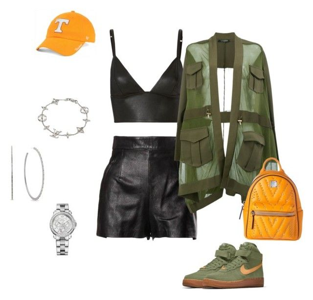 """Untitled #36"" by awande-duma on Polyvore featuring Moschino, T By Alexander Wang, Balmain, NIKE, MCM, '47 Brand, Louis Vuitton, Michael Kors and Juicy Couture"