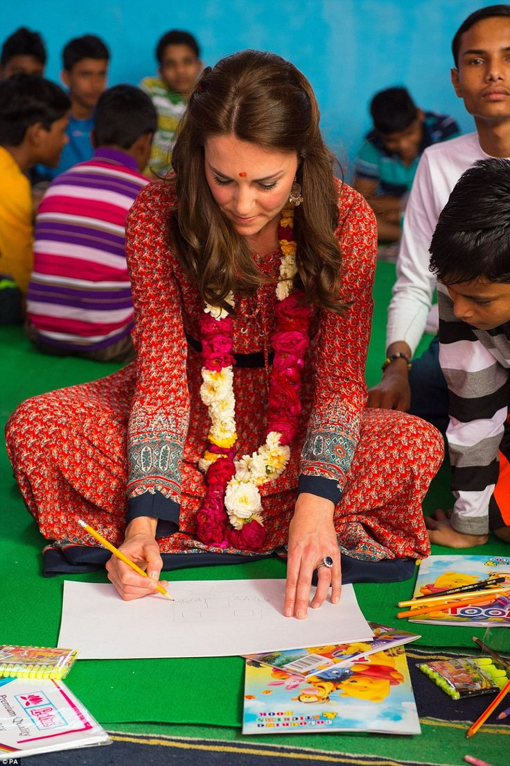 Kate is known to have a passion for art and photography. She studied History of Art at St Andrew's University, where she met Prince William and is patron of the charity the Art Room, which aims to boost children's confidence through art