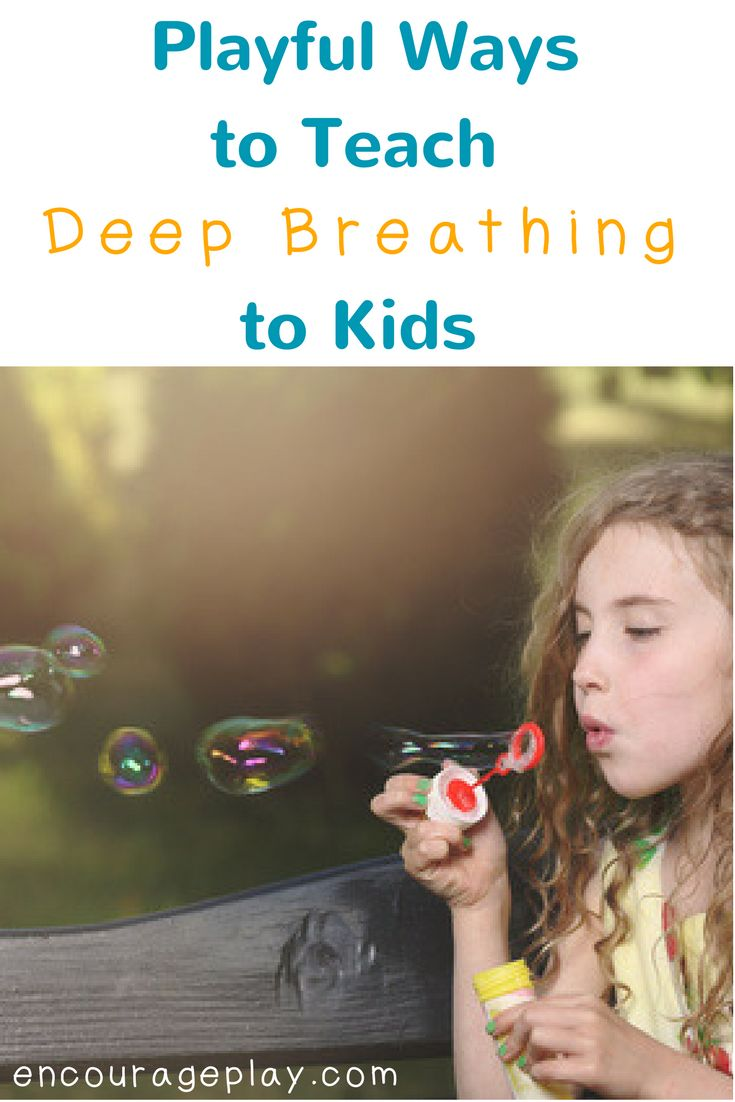 "You say it all the time - ""Take a deep breath"" Maybe you say it to your  children, or to your students, or perhaps even to yourself. But sometimes  you need a little more structure and playfulness around how to actually  teach a child (or yourself!) how to take a deep breath. Here's a selection  of the best ideas I've found for deep breathing."