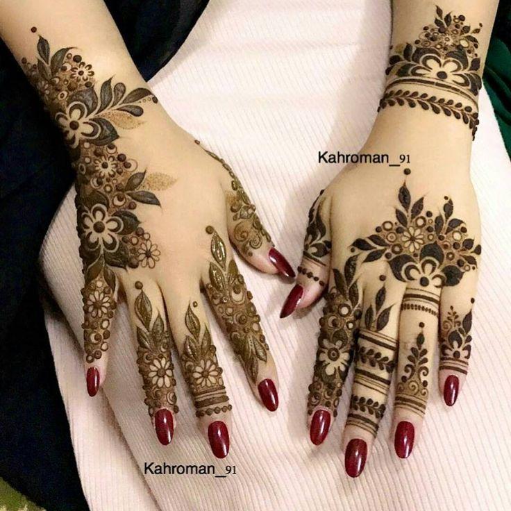 1 245 Likes 11 Comments Beauty Mazarin Design On Instagram Kahroman 91 Abaya Show Abaya Mehndi Designs For Hands Mehndi Designs Feet Foot Henna