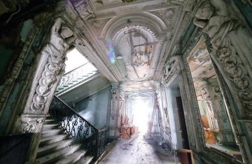 Призраки прошлого: заброшенные особняки Петербурга. | Всё об интерьере для дома и квартиры