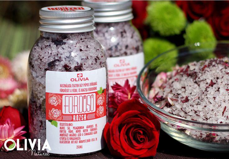 Rózsa fürdősó / Rose bath salt