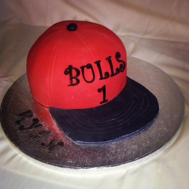 1000+ Images About Chicago Bulls Cake On Pinterest