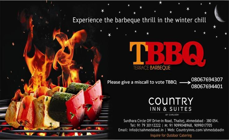 "Great News!! TBBQ -Terrace Barbeque has been selected as a Nominee in the ""Best Kebabs  category"" and ""Best Ambience category""   for the 2015 … Please voting for your outlet is 08067694307 under ""Best Kebabs  category"" and  08067694401 under ""Best Ambience category"""