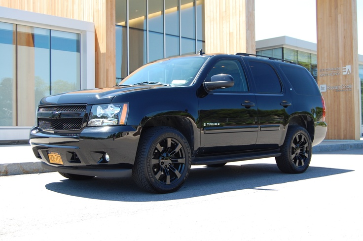 2015 Chevy Tahoe Blacked Out