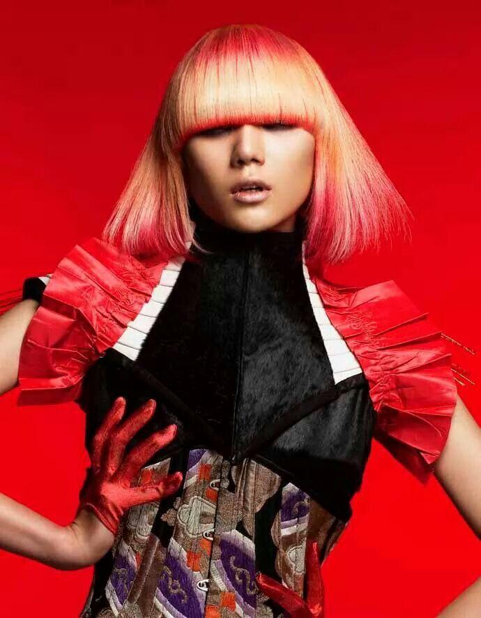 Stylist / Tsuyoshi Takahashi Hair & Make / Tadashi harada(SHISEIDO) #tsuyoshitakahashi