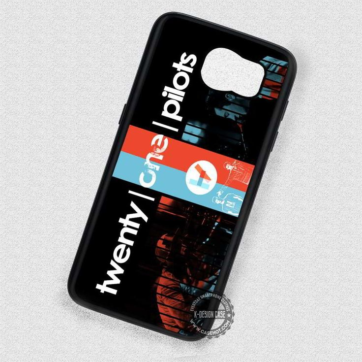 Red and Blue Twenty One Pilots Logo  - Samsung Galaxy S7 S6 S5 Note 7 Cases & Covers