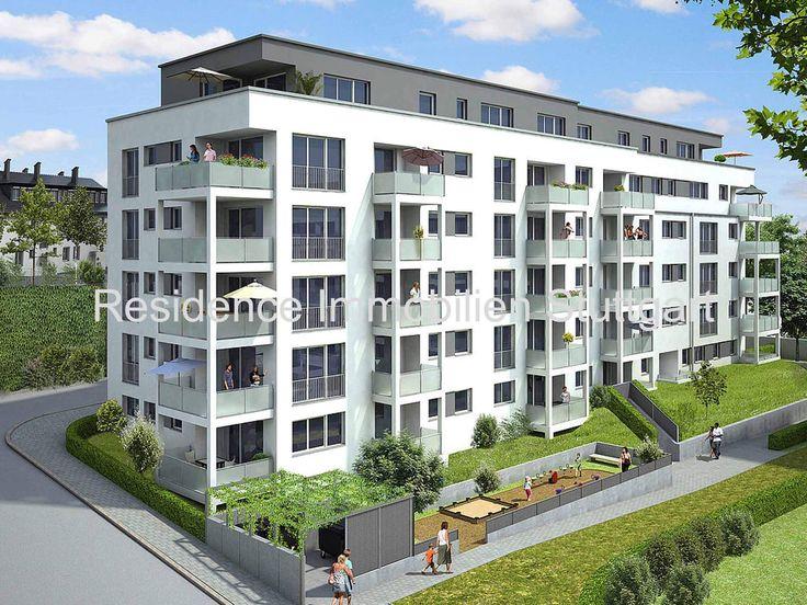 Amazing Stuttgart Nord: Neubau: Moderne 2 Zi. Wohnung Mit Balkon, EBK