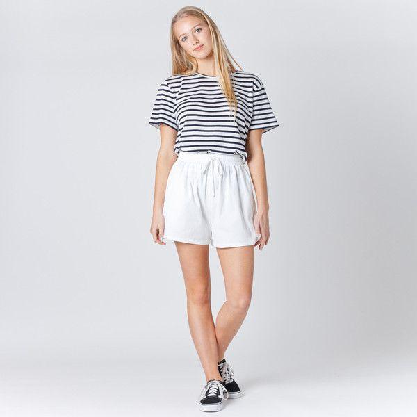 Assembly Label Womens Balance Short - White