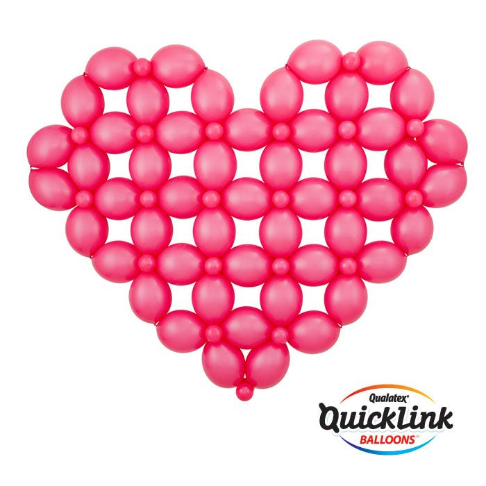 1000 images about work smarter with quick link balloons - How to make heart balloon ...