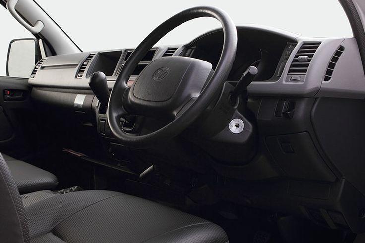 Toyota Auto2000 Hiace Panel Design Interior Type STD