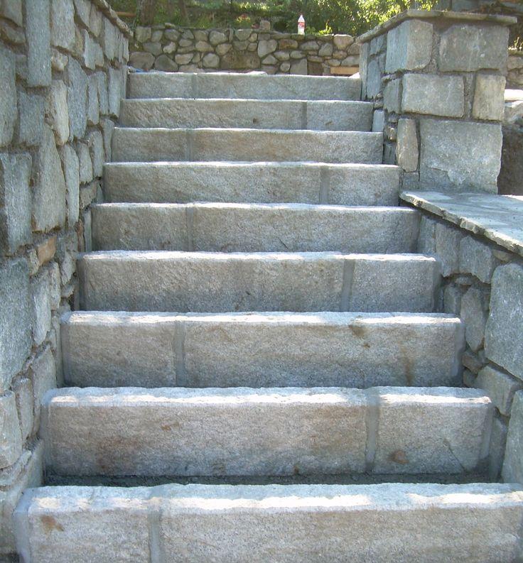10 best Escalier en Pierre naturelle images on Pinterest   Stairs ...