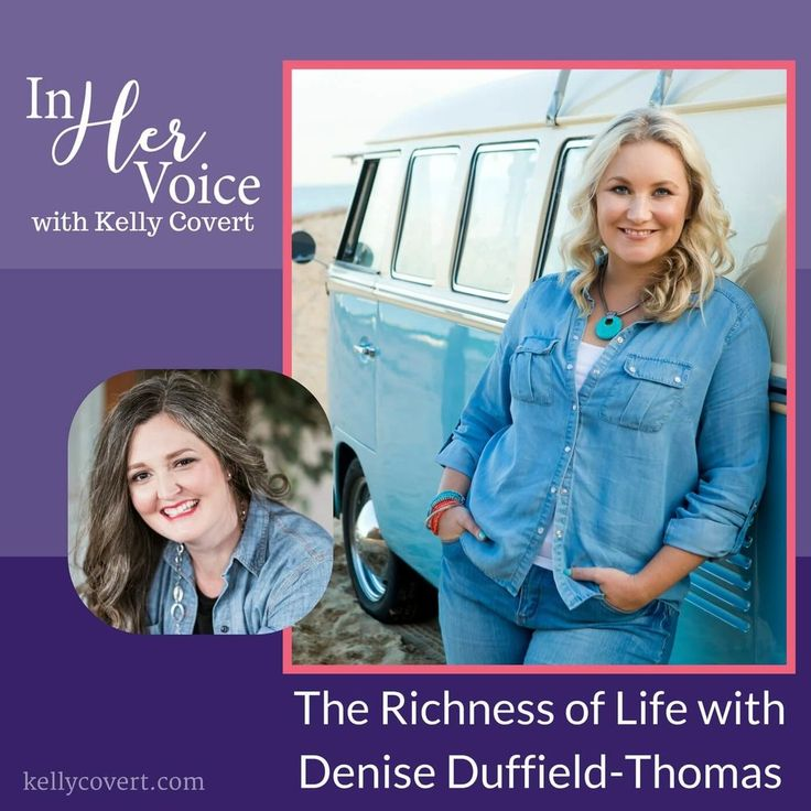 On the In Her Voice Podcast  Here are a few of the big topics we talked about:  + What our money mindset is and why it's so important  + The difference between our true inner voice and our voice of fear  + The secret way of connecting with your inner voice on a daily basis  + And more!