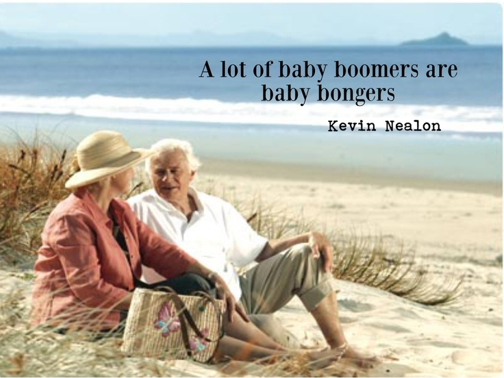 Baby boomers ....