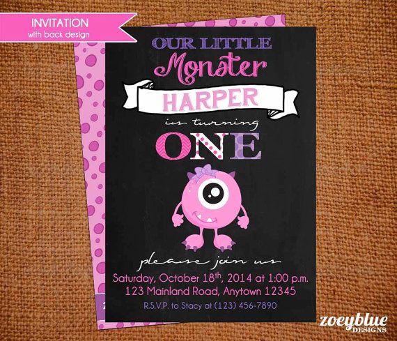 Best 25+ Monster First Birthday Ideas On Pinterest